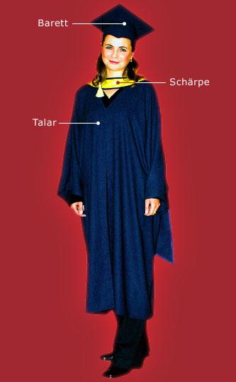 TALARIS - Roben, Barette und Schärpen für Abschlussfeiern und ...